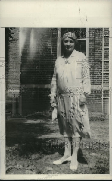 1927 Mary Harris, Head of New Federal Women's Penitentiary - Historic Images