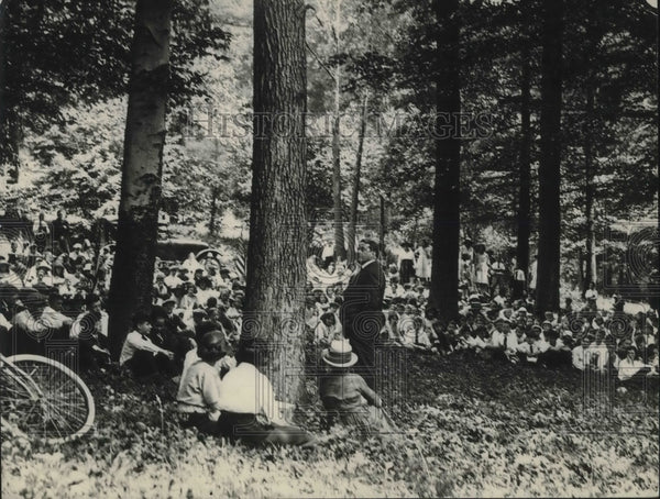 1921 Forest fire protection was held at Rock Creek Park DC - Historic Images
