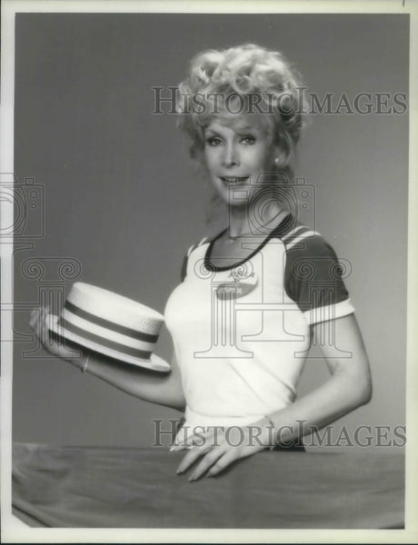 1980 Press Photo Barbara Eden American Actress Harper Vally PTA TV Show - Historic Images
