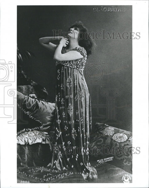 1921 Copy Photo 1993 Sarah Bernhardt Actres - Historic Images