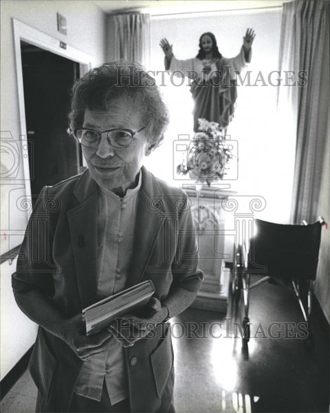 1984 Dorothy Mae Stang At Mother House - Historic Images