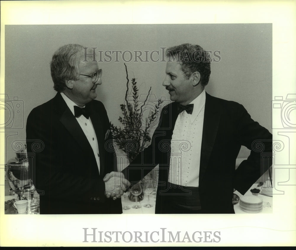 1986 Press Photo Kenneth Adelman, Chamber of Commerce Banquet Guest Speaker - Historic Images