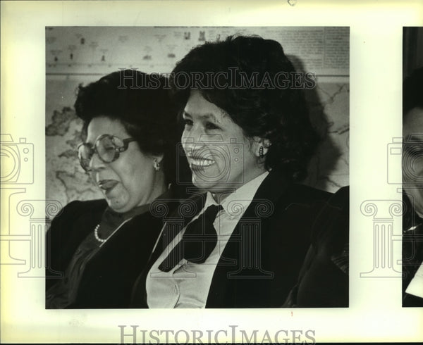 1984 Press Photo Christina Doria Alderete at Hispanic Women's Conference - Historic Images