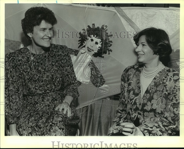1989 Press Photo Barbara Bader Aldave with Bexar County Women's Bar Association - Historic Images