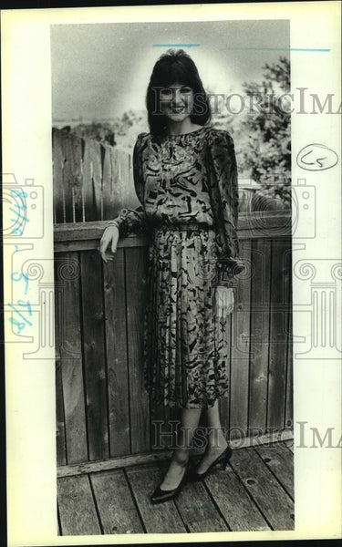 1987 Press Photo Susan Angell-Gonzalez - saa00556 - Historic Images