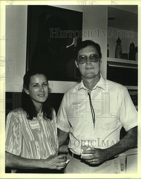 1988 Press Photo Bob Amdor, Superintendent of San Antonio Mission National Park - Historic Images