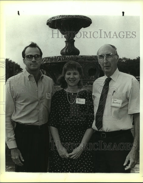 "1988 Press Photo Children's Services ""La Primera Noche"" benefit attendees - Historic Images"