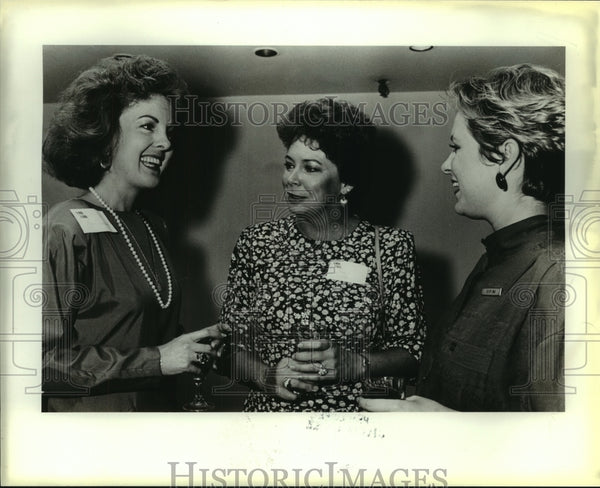 1987 Press Photo Professional Women's Perspective reception at Hyatt Regency - Historic Images