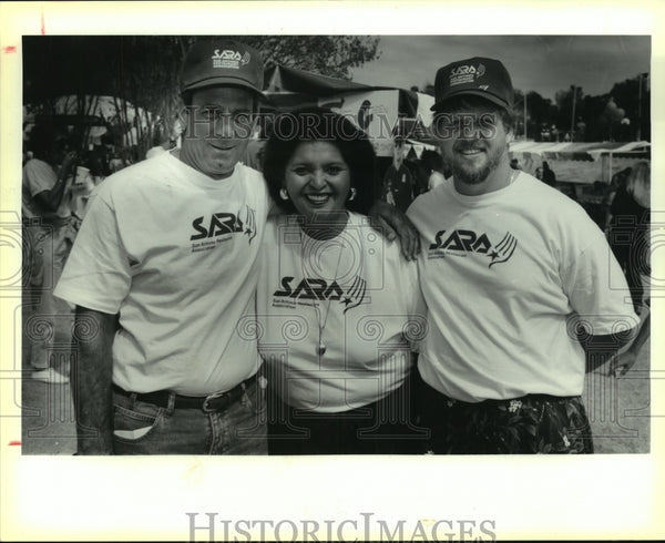 1993 Press Photo Tastes of San Antonio Luke Postolos Scholarship Fund benefit - Historic Images