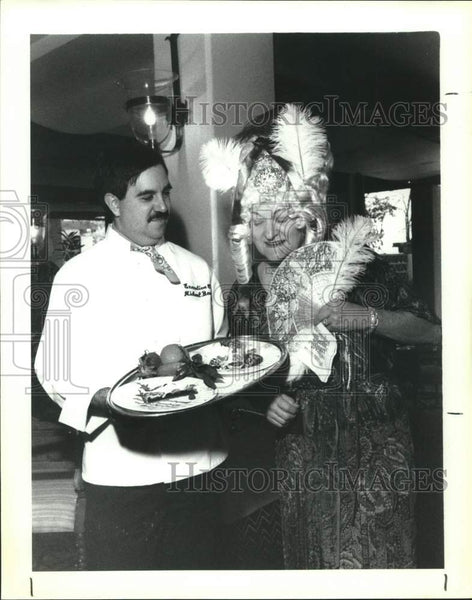 1991 Press Photo Tasting Lunch for the Opera Guild of San Antonio Mozart Ball - Historic Images