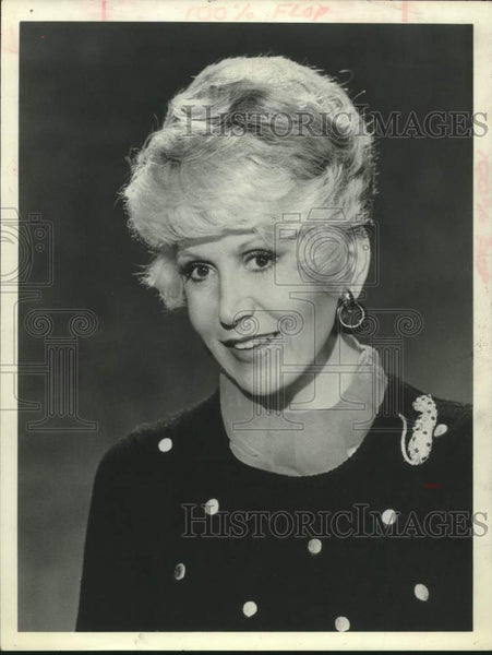 1981 Press Photo Gossip columnist Rona Barrett - saa01482 - Historic Images