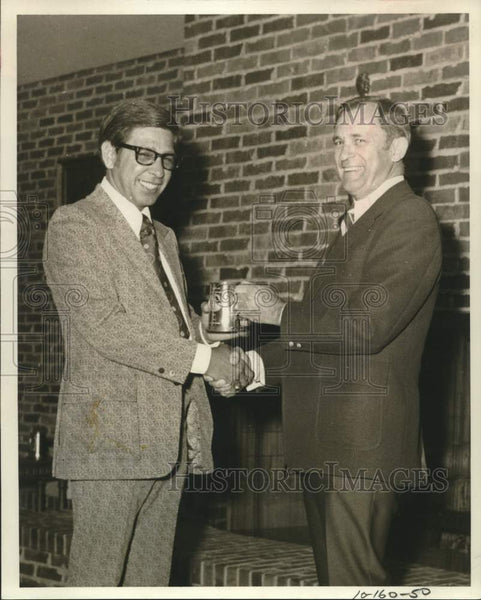 Press Photo Insurance agent Ernest S. Barrera - saa01541 - Historic Images