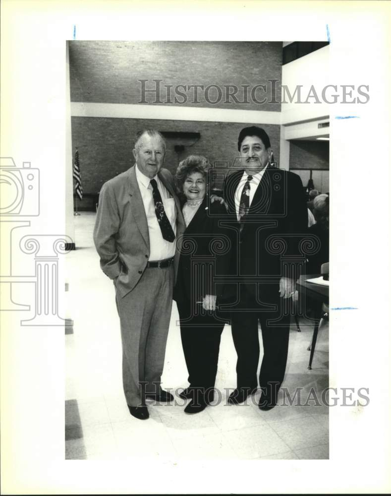 1993 Press Photo Senior Citizen Council of Bexar County installation dinner - Historic Images