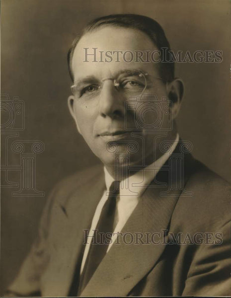 Press Photo Will D. Bacon, oil operations, Alamo National Bank, San Antonio - Historic Images