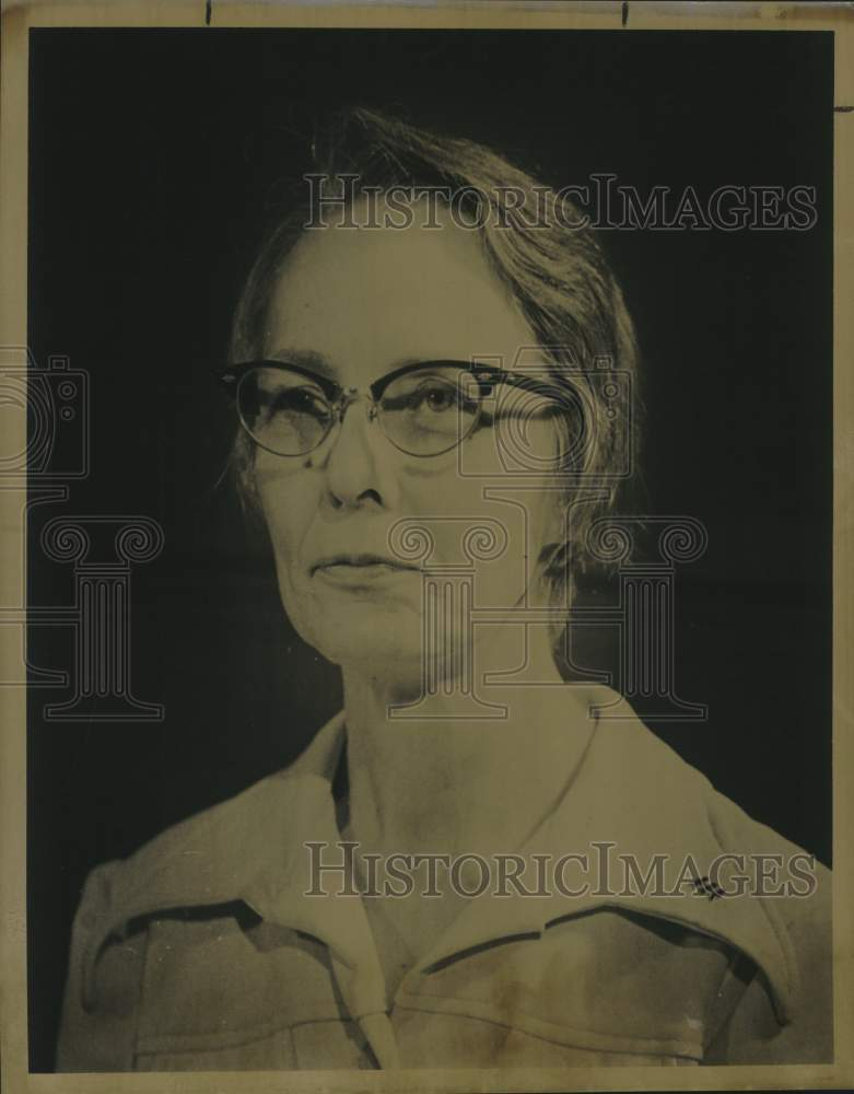 Press Photo Dr. Isabel Ball, Moody professor of chemistry - saa01737 - Historic Images