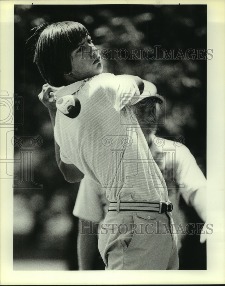 1983 Press Photo Golfer Stephen Hresko at City Junior Golf Tournamet - sas08597 - Historic Images