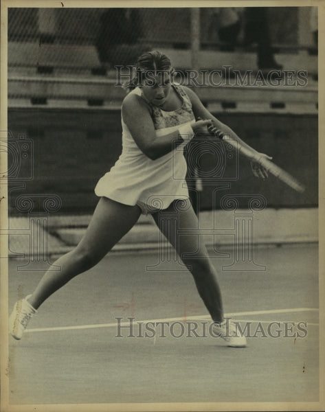 1975 Press Photo Jeanne Evert, Tennis Player - sas10681 - Historic Images