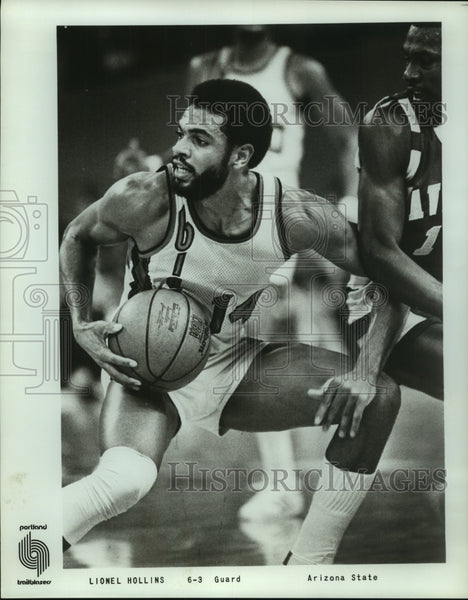 Press Photo Portland Trail Blazers basketball player Lionel Hollins - sas12679 - Historic Images