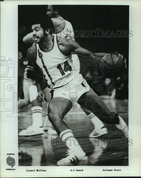 Press Photo Portland Trail Blazers basketball player Lionel Hollins - sas12684 - Historic Images
