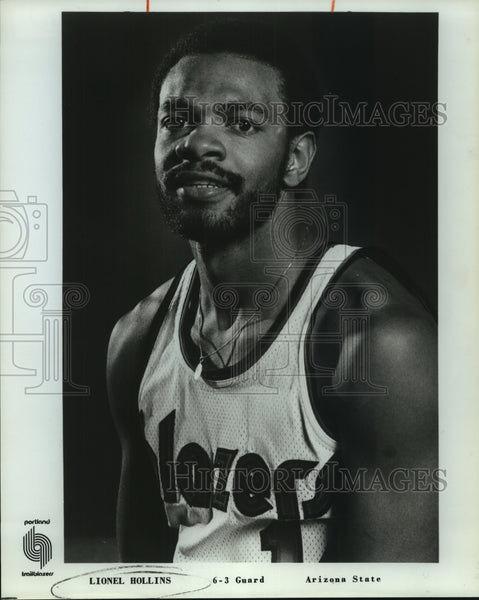 1978 Press Photo Portland Trail Blazers basketball player Lionel Hollins - Historic Images