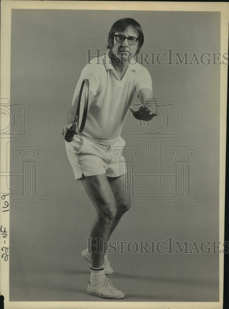 Press Photo Tennis player Bobby Riggs - sas12983 - Historic Images