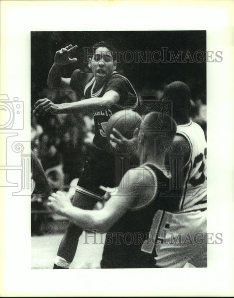 1993 Press Photo Charlie Steen, East Central High School Basketball Player - Historic Images