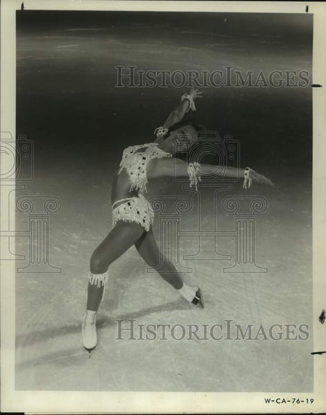 Press Photo Figure skater Roberta Loughland of the Ice Capades - sas14122 - Historic Images