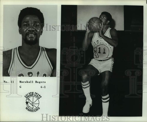 Press Photo Golden State Warriors basketball player Marshall Rogers - sas14260 - Historic Images