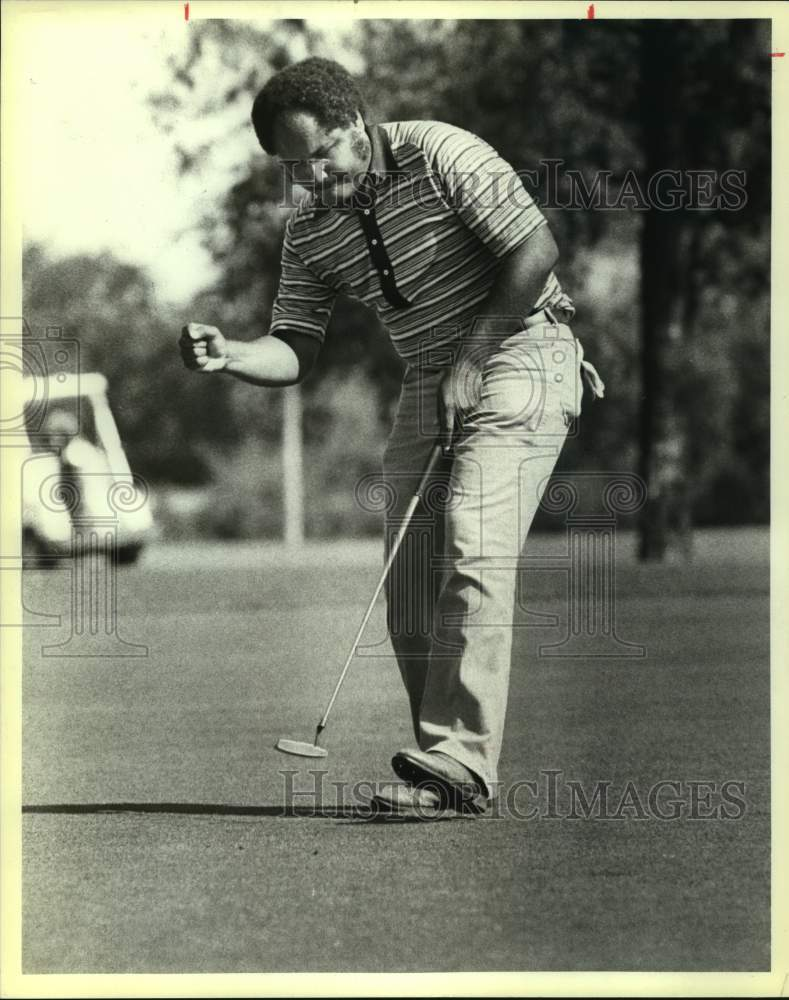 1984 Press Photo Golfer Marvin Wilson - sas15493 - Historic Images