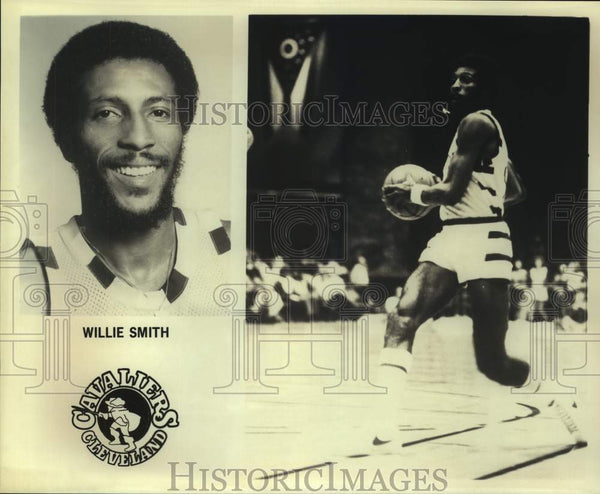 Press Photo Cleveland Cavaliers basketball player Willie Smith - sas15610 - Historic Images