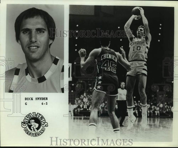 Press Photo Cleveland Cavaliers basketball player Dick Snyder - sas15655 - Historic Images