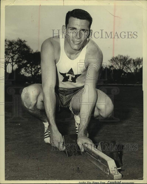Press Photo University of Texas track star Eddie Southern - sas15690 - Historic Images