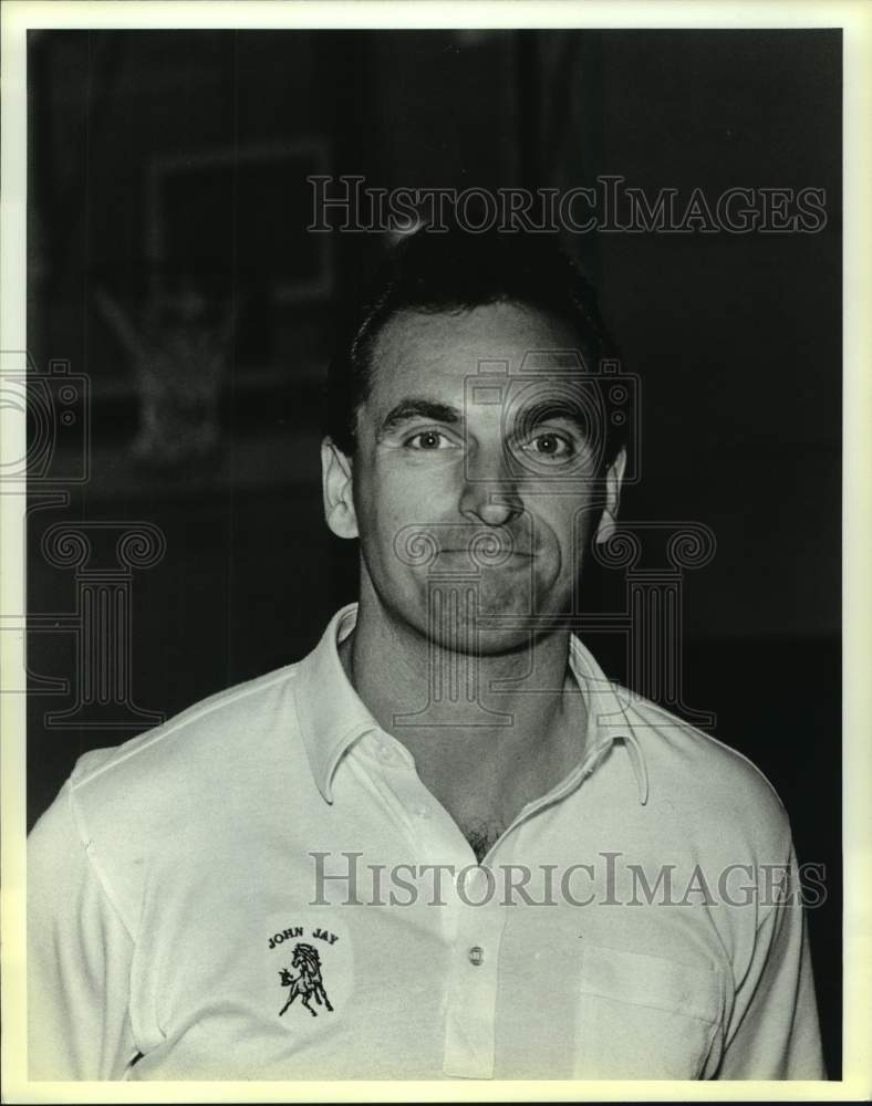 1988 Press Photo Jay High coach David Stelmazewski - sas15711 - Historic Images
