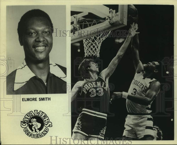 Press Photo Cleveland Cavaliers basketball player Elmore Smith - sas15925 - Historic Images