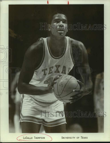 Press Photo University of Texas basketball player Lasalle Thompson - sas16439 - Historic Images