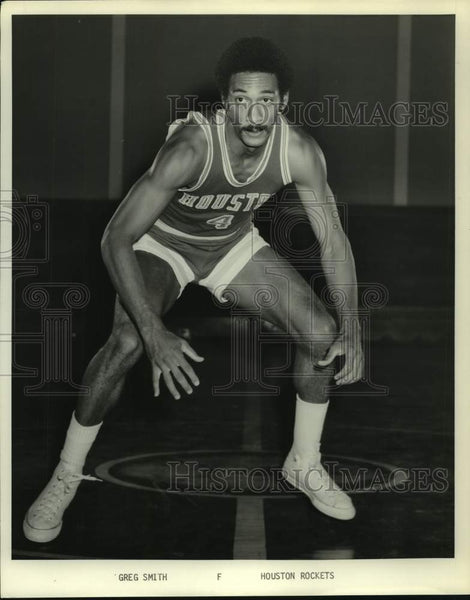Press Photo Houston Rockets basketball player Greg Smith - sas16768 - Historic Images