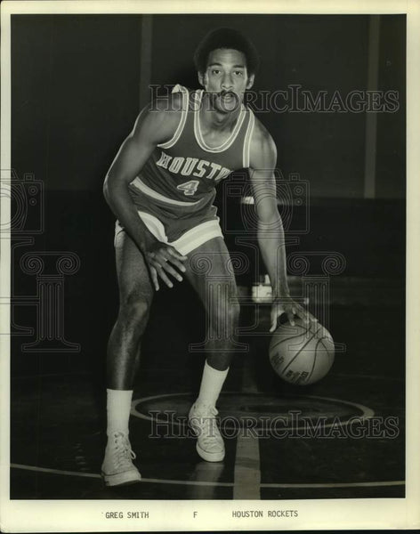 Press Photo Houston Rockets basketball player Greg Smith - sas16769 - Historic Images