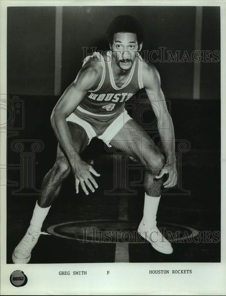 Press Photo Houston Rockets basketball player Greg Smith - sas16770 - Historic Images