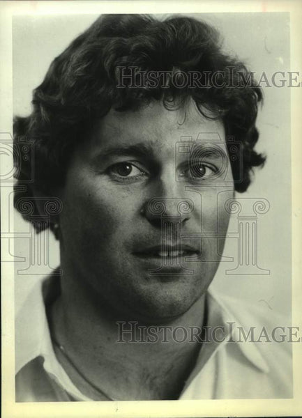 1983 Press Photo San Antonio Bulls football player Billy Schott - sas16805 - Historic Images