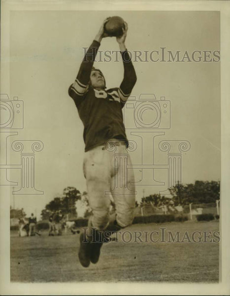 Press Photo Arkansas football player Melvin McGaha - sas16838 - Historic Images