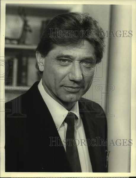 "1988 Press Photo Joe Namath in ""Kate and Allie"" on CBS - sas16844 - Historic Images"