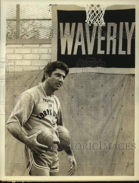 "1978 Press Photo Former football star Joe Namath in ""The Waverly Wonders"" on NBC - Historic Images"