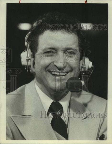 1987 Press Photo Basketball commentator AL McGuire - sas16864 - Historic Images