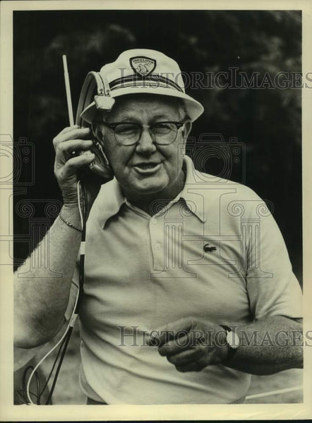 Press Photo Golf broadcaster Byron Nelson - sas16873 - Historic Images
