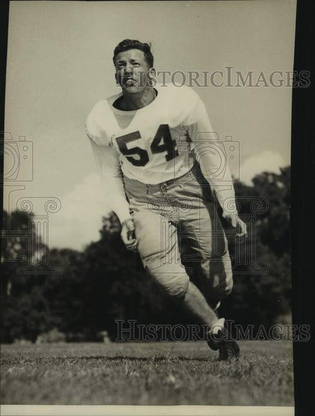 Press Photo Texas college football center Richard Rowan - sas16926 - Historic Images