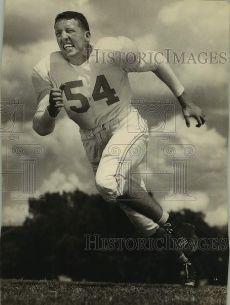 Press Photo University of Texas football player Dick Rowan - sas16930 - Historic Images