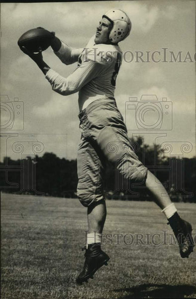 Press Photo University of Texas football player Dale Schwartzkopf - sas16954 - Historic Images