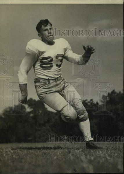 Press Photo Texas college football player Dale Schwartzkopf - sas16955 - Historic Images