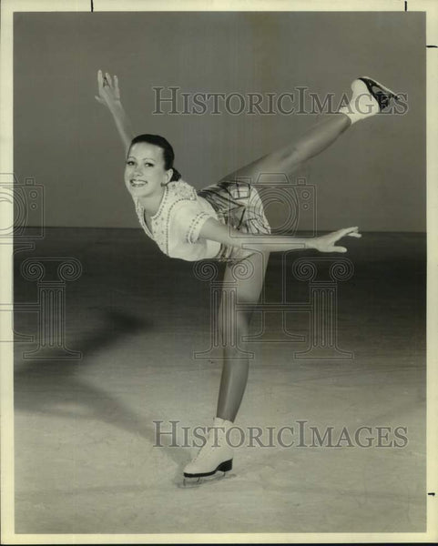 1978 Press Photo Figure skater Liz Schuster - sas16958 - Historic Images