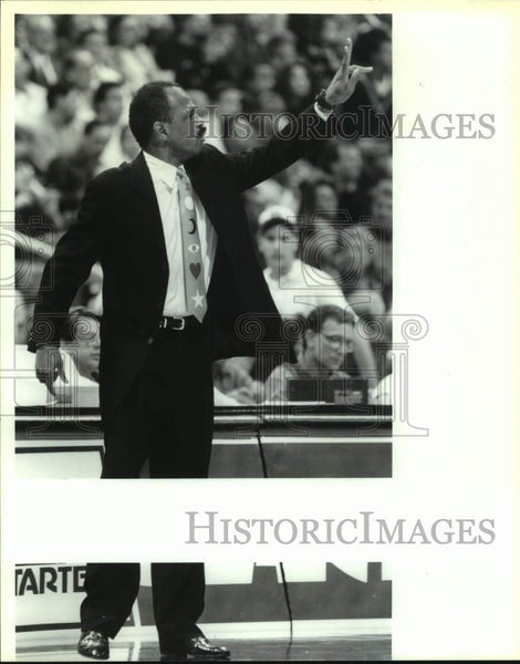 1993 Press Photo Former NBA basketball player John Lucas - sas16964 - Historic Images